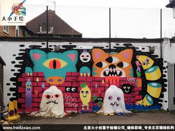 qq报价_国外墙绘作品欣赏-大小墙体彩绘公司
